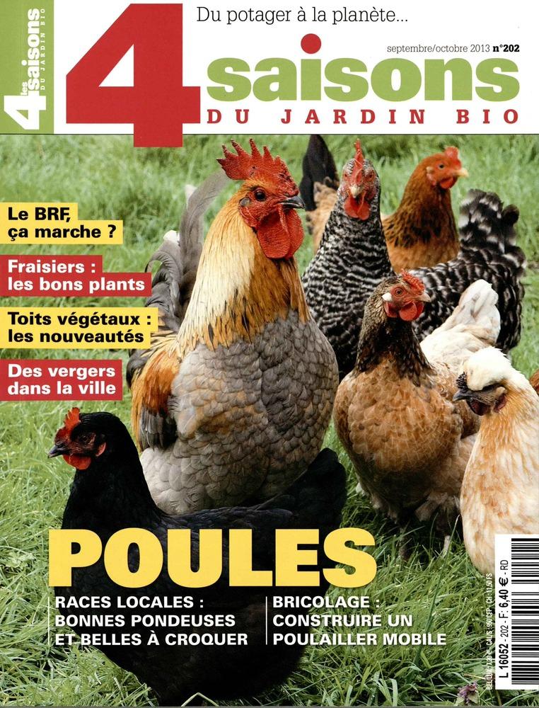 Dans les kiosques 4 saisons du jardin bio et poules et for Jardin et saisons